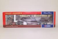 Corgi Classics CC12012; MAN F90 Artic; Curtainside: Phillips of Seahouses Ltd