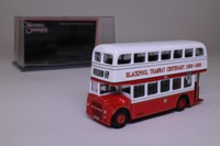 Corgi OOC 41103; Leyland Titan Bus; PD3A/1, Orion Body, St Helens Front: Blackpool Transport; Rte 22A Cleveleys