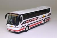 Corgi OOC OM45301; Bova Futura Coach; Paul S Winson Coaches; Loughborough