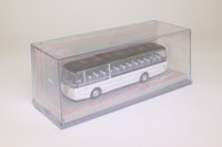 Corgi OOC 42401; Plaxton Panorama 1 Coach; Daimler Roadliner; Black & White, Dest: Portsmouth