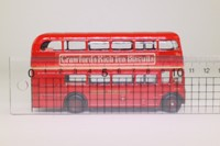 EFE 15616; AEC Routemaster Bus; London Transport; Rt 27 Richmond; Camden Town, Kensington, Hammersmith, Kew