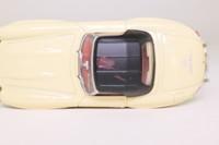 Corgi Classics 96415; Mercedes-Benz 300 SL Roadster; Soft Top; Hood Up; Ivory/Black