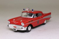 Corgi Classics 97397; 1957 Chevrolet Bel-Air; Fire Chief; Pensacola