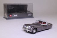 Corgi Classics 03001; Jaguar XK120 Roadster; Soft Top, Gunmetal Grey