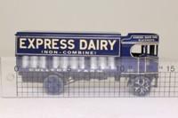 Corgi Classics CC20002; Sentinel Steam Wagon; Covered Dropside, Express Dairy, Churns Load