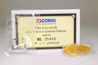 Corgi Classics 35301; Bedford Val Coach; Yelloway Travel; Rochdale, with badge