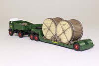 Trackside DG123000; AEC Mammoth Ballast Tractor; Southern Railway with Cable Drum Load