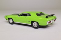 Road Signature 94243; 1971 Plymouth GTX; Lime Green