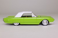 Solido 4504; 1961 Ford Thunderbird Cabriolet; Soft Top, Green, Brown Interior