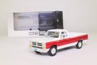White Box WB180; 1987 Dodge Ram Pickup; White & Red