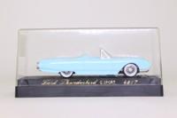 Solido 4517; 1961 Ford Thunderbird Cabriolet; Pale Blue, White Interior