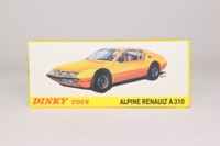 Dinky Toys 1411; Alpine Renault A310; Red
