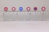 Dinky Toys 40; Road Signs; Panneaux De Signalisation Ville