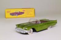 Dinky Toys 555; Ford Thunderbird Convertible; Open Top, Metallic Green