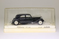 Solido 4032; Citroen 15CV Traction Avant; Black, Cream Wheels