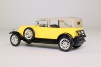 Solido 4149; 1926 Renault 40CV; Tourer, Hood Up, Yellow