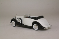 Solido 4077; 1939 Rolls Royce Twenty Cabriolet; Open Top, White, Black Chassis
