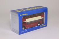 Base Toys B104B; Bristol Lodekka Bus; W Alexander & Sons, Fife; 025 Garage