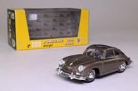 Brumm R121; 1952 Porsche 356 Coupe; Open Roof; Metallic Bronze