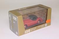 Brumm R102; Jaguar XK120 Open Top; Hood Up, Red