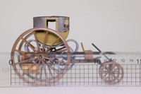 Brumm X4; 1803 Tevithick Steam Carriage; Olive, Brown