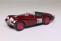 Brumm R103; Jaguar XK120 Convertible; 1948 Mille Miglia; RN729
