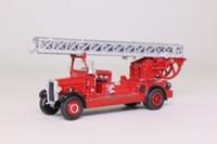 Atlas Editions 4144 103; 1937 Leyland TLM Fire Engine Turntable Ladder; London Fire Brigade, LCC