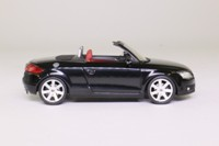 Schuco 04782; 2006 Audi TT Roadster; Open Top, Brilliant Black