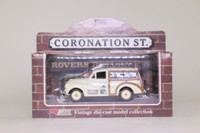Days Gone Lledo; Morris Minor Traveller; Coronation St, Vote for Swindley