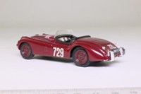 Brumm B103; Jaguar XK120 Convertible; Mille Miglia, RN729