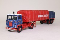 Corgi Classics CC12609; Scammell Crusader Artic; Platform Trailer, Sheeted Load, Morris Young Ltd, Perth