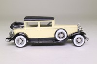 Solido 4085; 1931 Cadillac V16; 452A Landaulet; Cream/Black; Hood Down