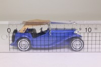 Models of Yesteryear Y-8/4; 1945 MG TC; Soft Top, Blue & Tan