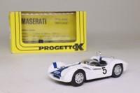 Progetto K PK022; Maserati Tipo 61 Birdcage; 1961 1000 km Nurburgring 1st; Moss & Gurney; RN5