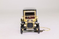 Matchbox Collectibles  YMS02-M; 1910 Benz Limousine; Dark Blue, Gold Trim