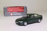 Schuco; 2002 Opel/Vauxhall Vectra (C); Vauxhall, Metallic Racing Green