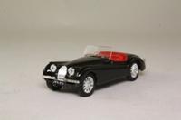 Brumm R101; Jaguar XK120 Convertible; Open Top, Black, Red Seats