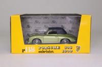 Brumm R118; 1950 Porsche 356 Cabriolet; Soft Top, Metallic Green