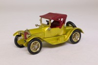 Models of Yesteryear Y-6/3; 1913 Cadillac; Gold, Maroon Smooth Hood
