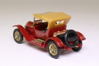 Models of Yesteryear Y-8/3; 1914 Stutz; Metallic Red, Smooth Tan Roof