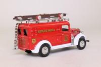 Models of Yesteryear YFE10; 1937 GMC Rescue Squad Van; Rescue Squad; FDNY 4th Precinct