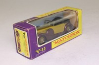 Models of Yesteryear Y-11/3; 1938 Lagonda Drophead Coupé; Gold, Purple chassis