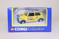 Corgi Classics CC822; Morris Mini (1:36); Corgi 40th Anniversary; RAC Rally