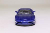 Welly 9720F-S; 1999 Chevrolet Corvette; Dark Blue