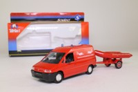 Solido 3138; Peugeot Expert Van; Rescue Divers w Dinghy on Trailer