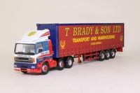 Corgi Classics 75408; Leyland-DAF 85 Series; Curtainside: T. Brady and Son Ltd