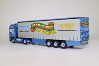 Corgi Classics CC13247; DAF 95, 1:50 Scale; Fridge Curtainside; McAuliffe Trucking Co; Castleisland' Co Kerry