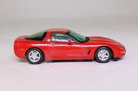 Matchbox Collectibles CCV04-M; 1997 Chevrolet Corvette C5; Red