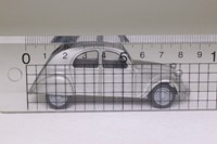 Matchbox Collectibles VEM03-M; 1949 Citroen 2CV; Metallic Grey