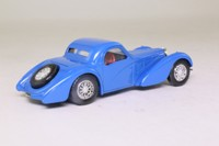 Solido 4088; 1939 Bugatti 57S Atalante; Closed Coupe, Blue